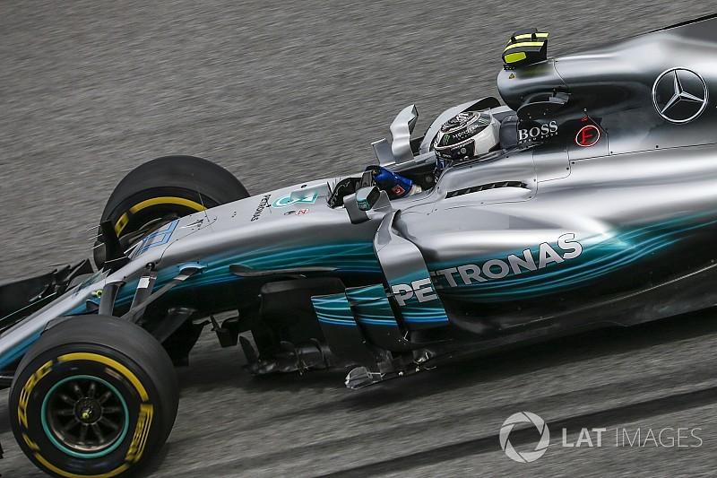 Mercedes ikilisi hafta sonunun kalanında farklı aero paketlerle yarışacak