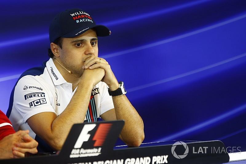 Massa elég furcsa helyen törte össze a Williamst