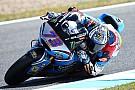 Moto2 Jerez Moto2: Marquez takes maiden win as Morbidelli crashes