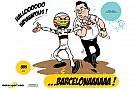 Cartoon van Cirebox - Alonso vergist zich...