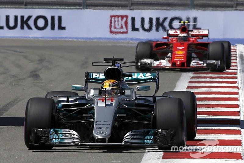 У Mercedes визнали перевагу Ferrari