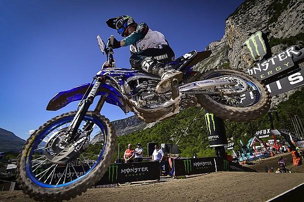 Arnaud Tonus fa sua la gara del sabato della MXGP in Russia
