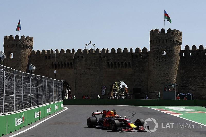 【F1】バクーFP2詳報:フェルスタッペン首位維持。2番手ボッタス