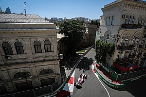 Formula 1 Top List Azerbaijan GP: Starting grid in pictures