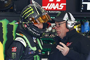 NASCAR Cup Interview Tony Gibson says nothing