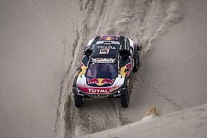 Dakar Noticias de última hora Sainz completó el día con la caja de cambios dañada