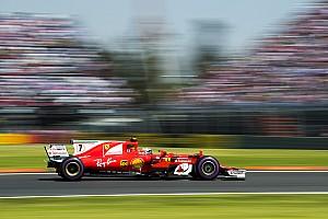 Formule 1 Réactions Räikkönen met du rouge sur le podium après une course solitaire