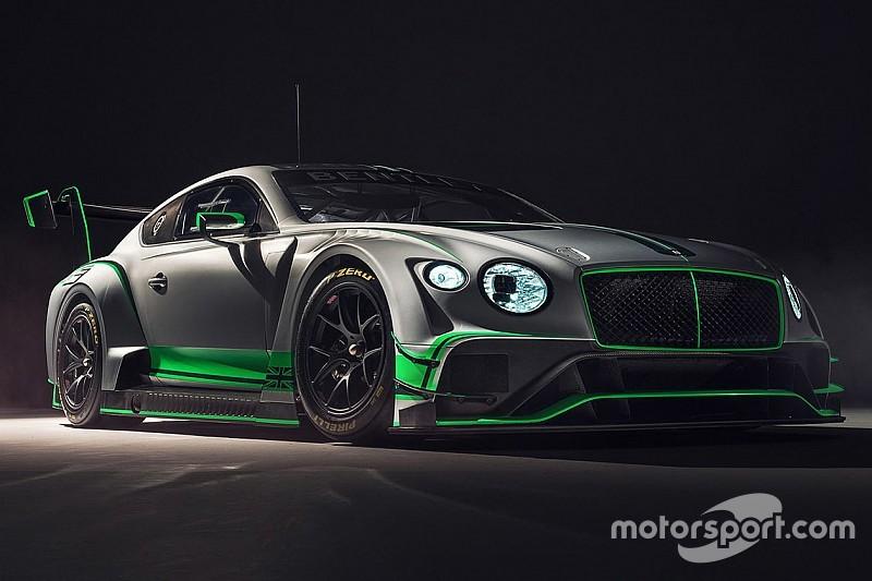 GALERÍA: Bentley Motorsport presentó el nuevo Continental GT3