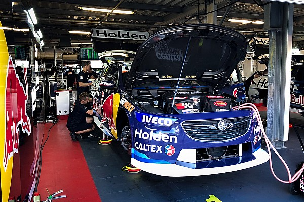 Crashed Whincup car ready after 4am repair job