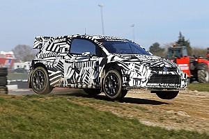 World Rallycross Breaking news Volkswagen mulai tes Polo WRX baru