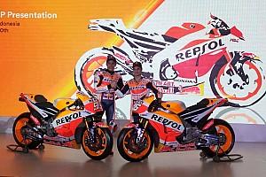 Honda провела презентацию нового мотоцикла MotoGP