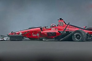 IndyCar Самое интересное Видео: авария Джеймса Дэвисона в тренировке перед Indy 500