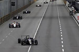 F3 Breaking news Eriksson blames Ilott, FCY for Macau crash