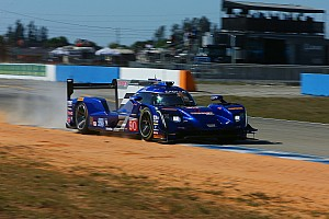 "IMSA Breaking news Vautier on Sebring shunt: ""The wall came to me pretty quickly"""