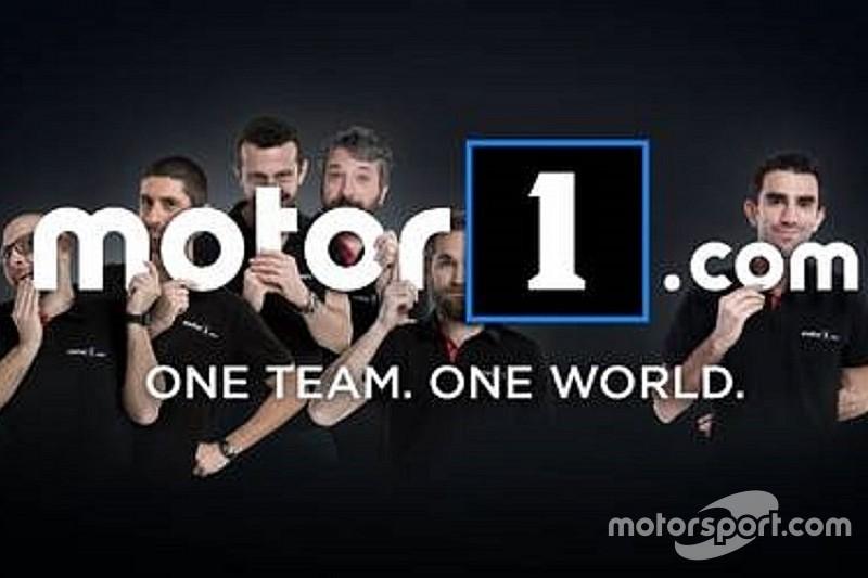 Motor1.com Itália é a nova edição da Plataforma Automotiva Mundial Número 1