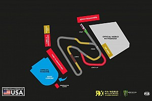 World Rallycross Breaking news COTA reveals new rallycross circuit layout