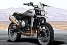 Other bike Norton 650 Atlas Scrambler concept renders revealed