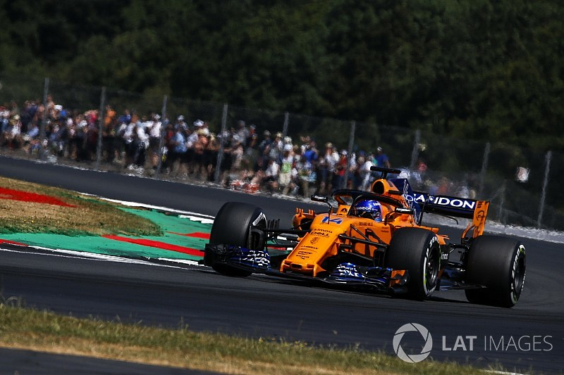 "Alonso: Silverstone qualifying ""without a doubt"" best of 2018"