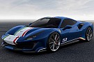 Auto Découvrez les 4 versions de la Ferrari 488 Pista Piloti Ferrari