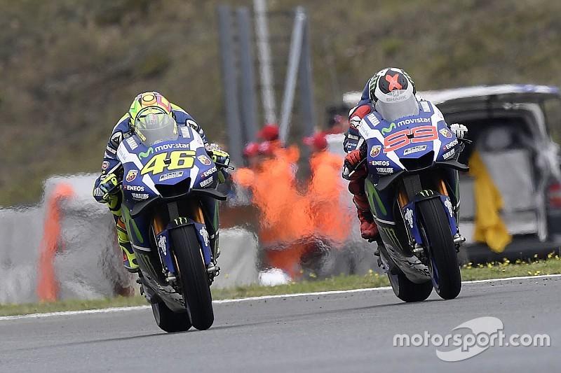 Lorenzo tetap anggap aksi overtaking Rossi agresif