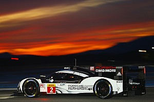 WEC Testing report Porsche stays on top in WEC Prologue night session