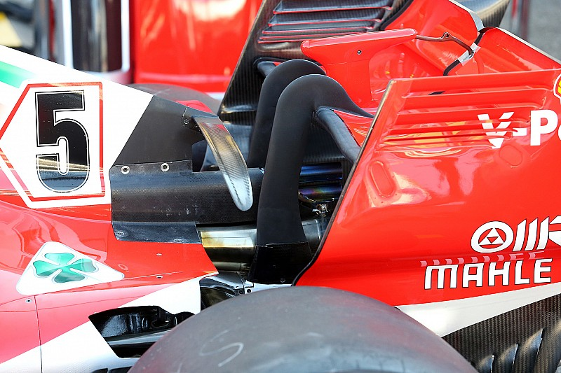 Formel-1-Technik: Detailfotos beim GP Deutschland in Hockenheim