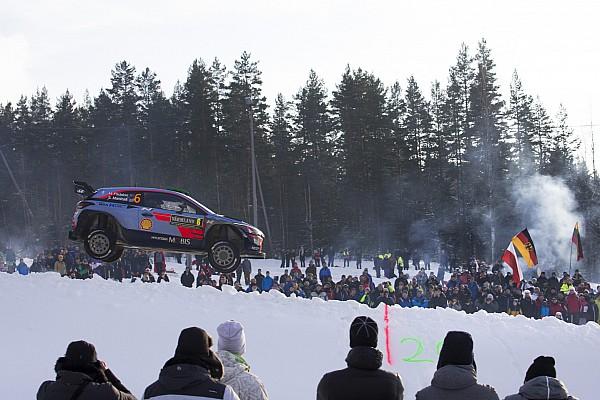 WRC Top List GALERÍA: El Rally Suecia en imágenes