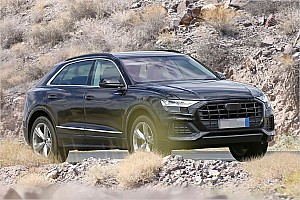 Automotive News Audi Q8 2018 ungetarnt erwischt