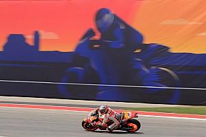 MotoGP Trainingsbericht MotoGP Austin FP3: Marquez vorn, Regen stoppt Zeitenjagd