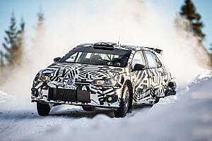 WRC Ultime notizie Solberg, Gronholm e Tidemand hanno provato la Polo R5 in Svezia