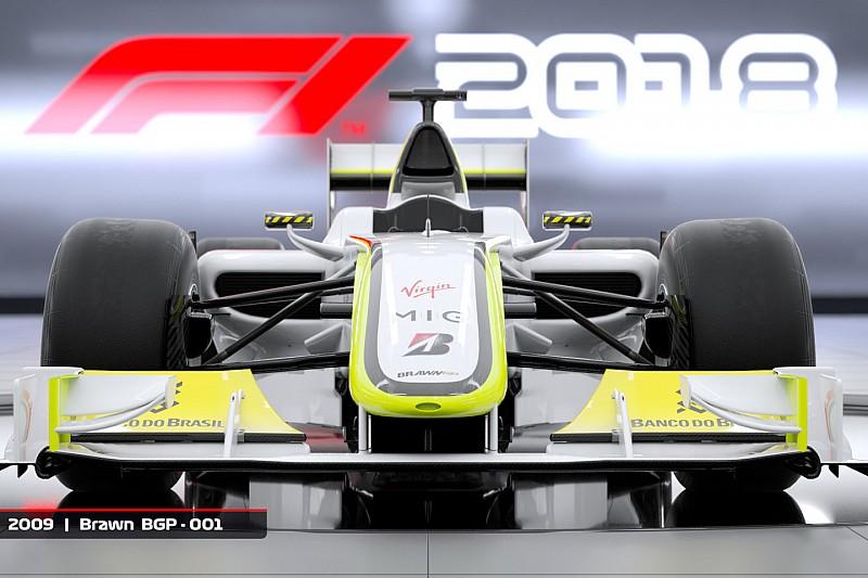 El Brawn de 2009 estará en el nuevo juego F1 2018