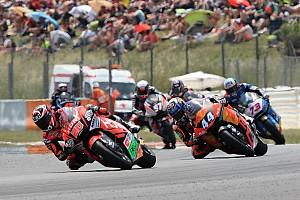 Moto2 Race report Barcelona Moto2: Quartararo leads Oliveira for maiden win