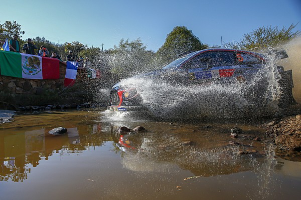 Mexico WRC: Neuville tops opening stage
