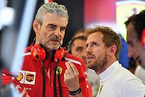 Vettel : Plus de changements chez Ferrari auraient été