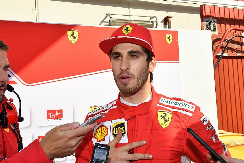 A Ferrari két juniorja vezeti a Saubert a Német Nagydíj első szabadedzésén