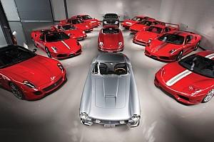 Automotive Nieuws Exotische collectie Ferrari's ter waarde van 18 miljoen onder de hamer