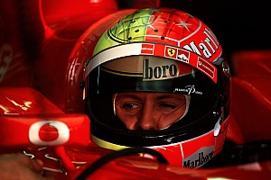 فورمولا 1  الأكثر تشويقاً معرض صور: جميع خوذ مايكل شوماخر خلال مسيرته في الفورمولا واحد