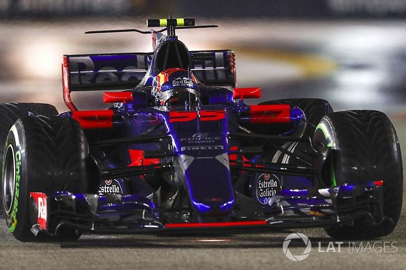 """Sainz és a Toro Rosso csapatrádiója: """"Boomshakalaka!"""""""