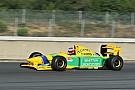 GP de France historique : la Benetton de Schumacher en piste et en vente!