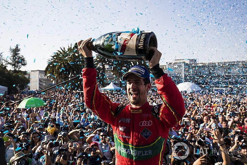 """دي غراسي: """"شعوري لا يوصف"""" بعد الفوز المفاجئ في سباق المكسيك"""