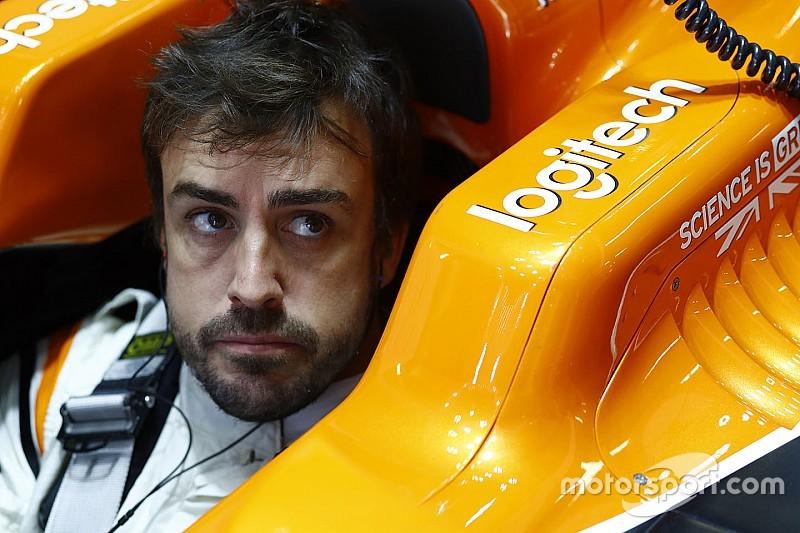 EL1 - Encore trahi par Honda, Alonso retourne jouer au tennis