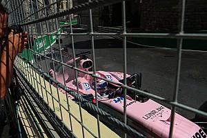 Formule 1 Nieuws Perez wil dat kerb in Bocht 8 wordt aangepast na crashes