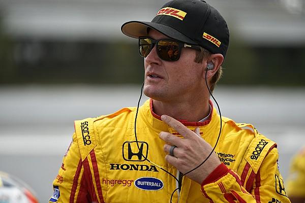 IndyCar Vídeo: Hunter-Reay corre en IndyCar tras sufrir un accidente de 139G