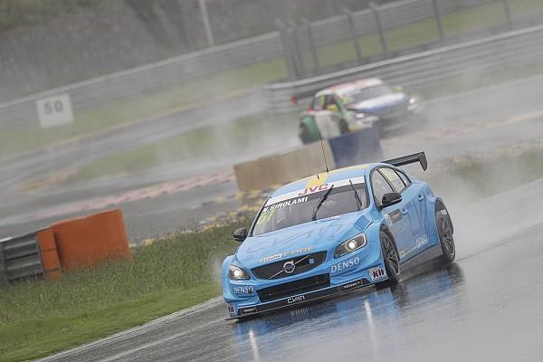 Çin WTCC: Yoğun yağış nedeniyle 2. yarış iptal edildi
