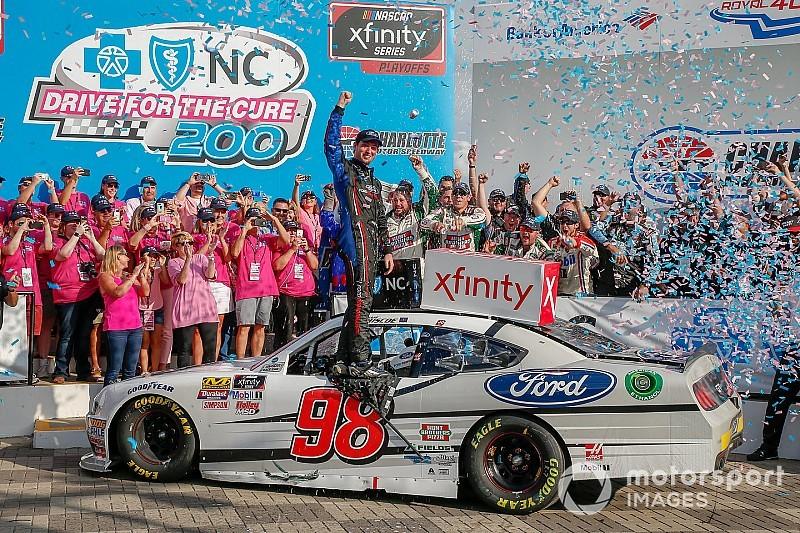 Chase Briscoe se lleva su primer triunfo en Xfinity