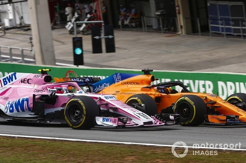 Pour Force India, vaincre McLaren était