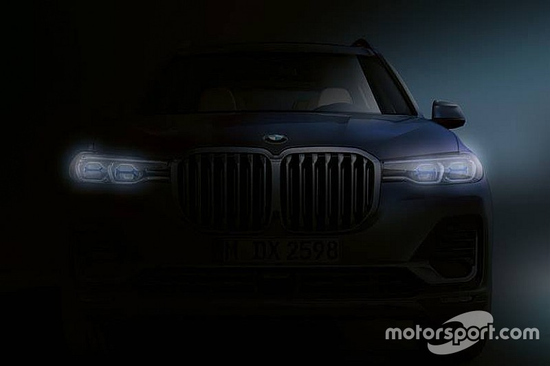 Нову BMW X7 представлять в середині жовтня