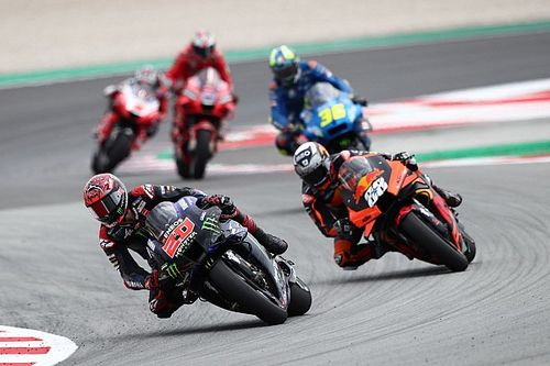 Quartararo can't explain MotoGP suit problem in Barcelona
