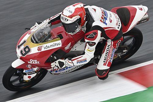 Hasil FP3 Moto3 Emilia Romagna: Andi Gilang Lolos Q2, Mario Aji Kesulitan