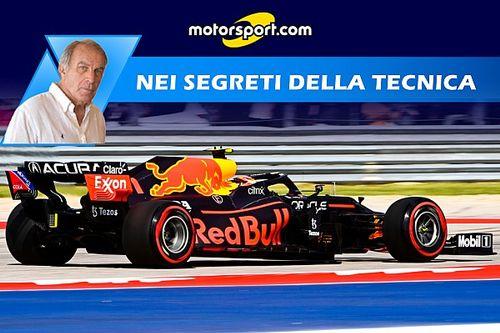 """F1   Piola: """"I dossi penalizzano l'assetto rake Red Bull"""""""